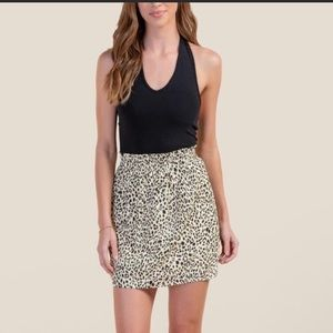 NWT Adorable animal print skirt